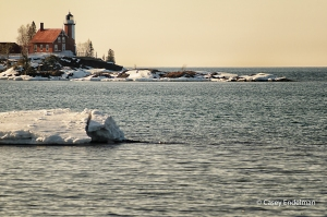 Eagle Harbor Lighthouse Calm Afternoon