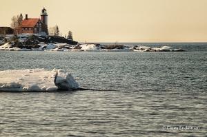 Eagle Harbor Lighthouse Calm Afternoon