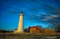 Fort Gratiot Lighthouse Slowscape at Sunrise #2