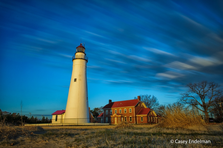 Fort Gratiot Lighthouse Slowscape at Sunrise #2