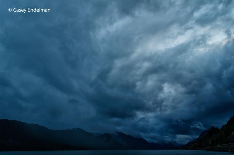 Columbia River Gorge after a Rainstorm