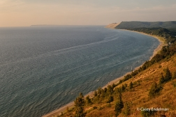 Sleeping Bear Dunes from Empire Lookout