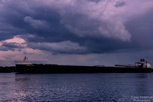 American Spirit evening storm
