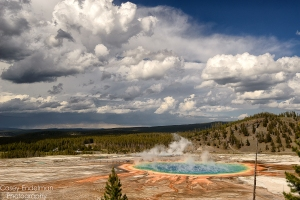 Grand Prismatic Sunny Day