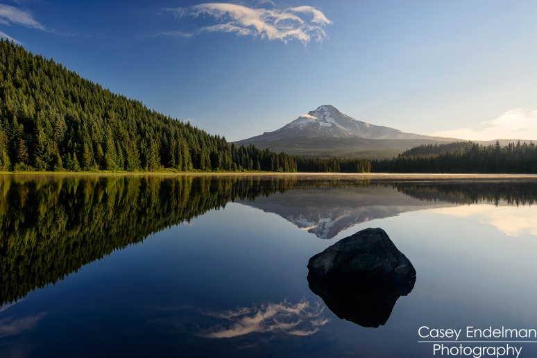 Trillium Lake Early Morning
